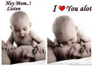 dear mom i love u