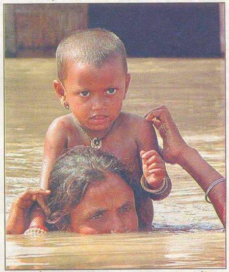 mom sinking